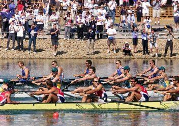Ben Hunt-Davis wins Gold at Sydney Olympics 2000