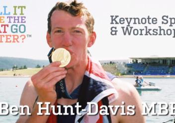 Ben Hunt Davis – Keynote Speech and Workshop